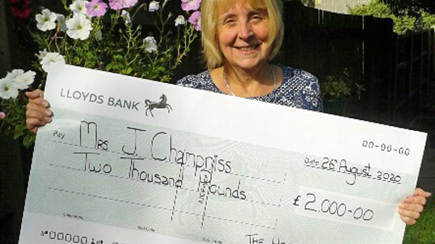 Mrs Champniss – Superdraw winner