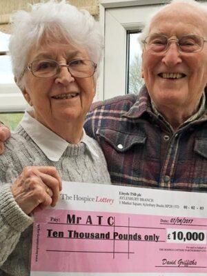 Mr & Mrs C – Rollover winners